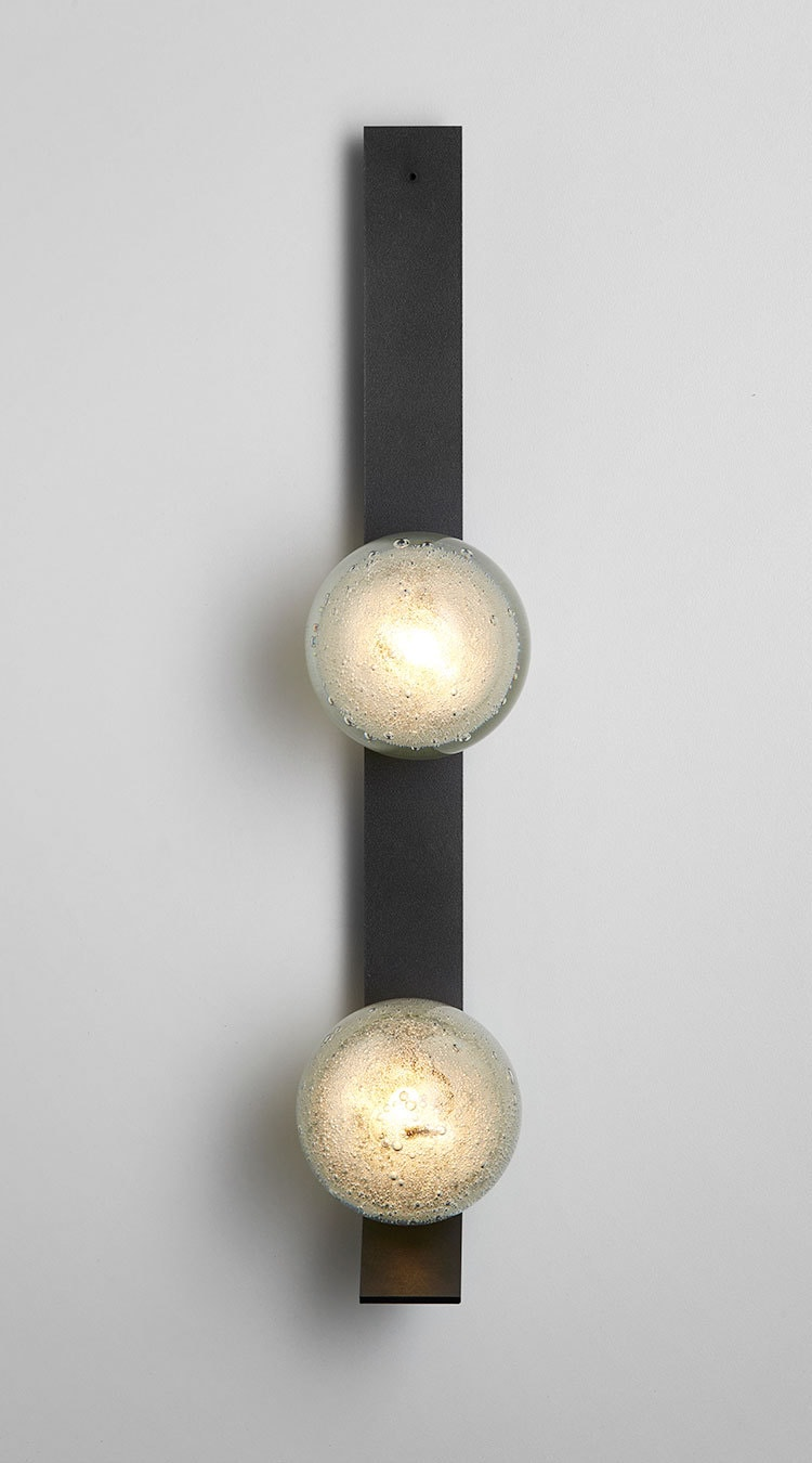 best authentic 886f8 96ac4 Fizi-Wall-Sconce-Articolo-black-with-kick-Double-ball